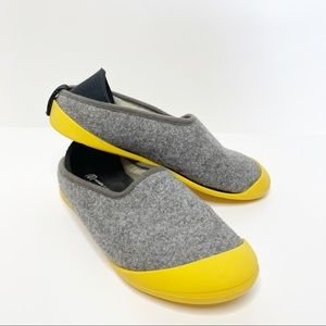 Mahabis Classic Convertable Wool Slipper